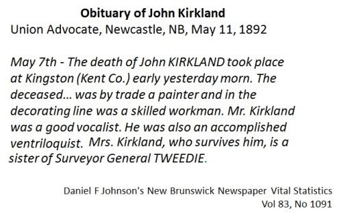 John Kirkland obit