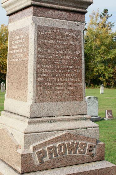 Prowse - gravestone