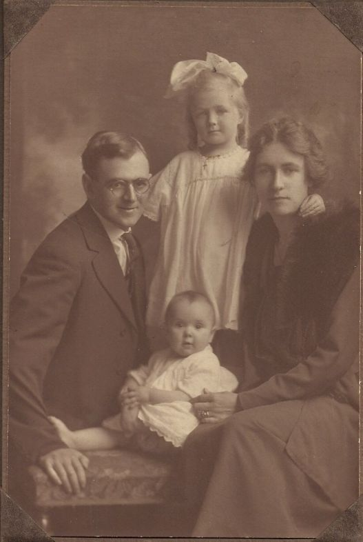 Samuel and Bessie (Hicks) Prowse, Audrey, Hazel